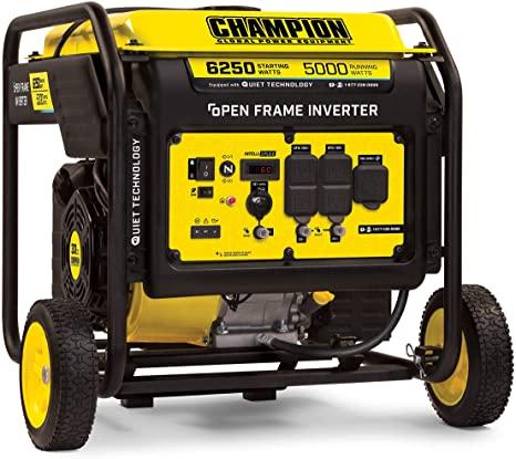 Champion 6250 Watt DH Series Open Frame Inverter noiseless generator