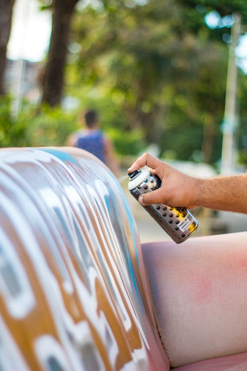 How to apply spray paint properly to dry faster
